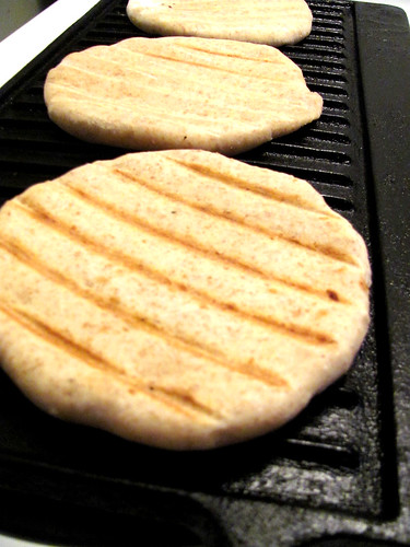 """Bread Bible's Country-Style Whole-Wheat """"Pita"""""""