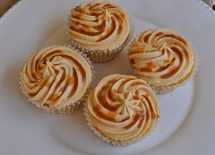 Dulce De Leche Cupcakes (Sonia's Cupcakes Athens) Tags: cupcakes athens greece leche dulce dulcedeleche sonias