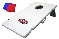 San Francisco 49ers TailGate Toss 2.0 Plastic Cornhole Boards