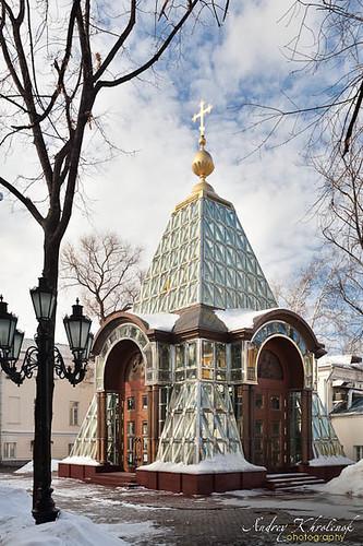 Часовня Александра Невского (Хрустальная часовня). Зураб Церетели, архитектор © Фотограф Андрей Хроленок