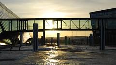 (The Bjornar Identity) Tags: sunset slr silhouette nikon telenor fornebu d40x