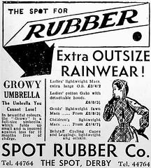 130 (Mae'r Cwfl) Tags: rainwear rubberised
