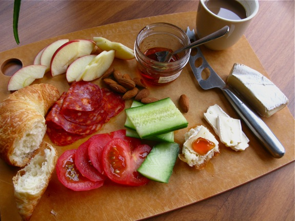 european croissant brunch antipasto 001