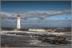 Perch Rock Lighthouse (mobilevirgin) Tags: sea lighthouse canon river 5d hdr mersey wirral newbrighton 2470mm newbrightonlighthouse perchrock perchrocklighthouse