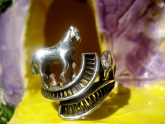 pig and horse ring with edymade glowhouse