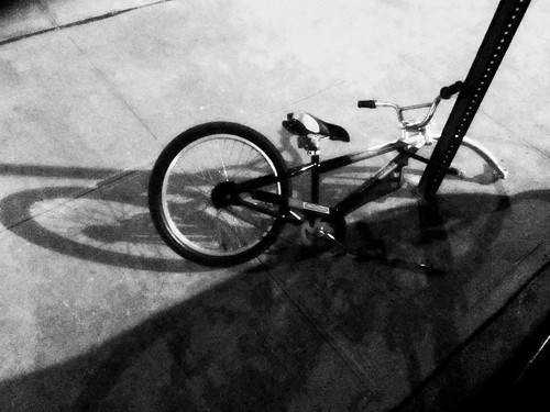DAY 623: BROKEN BIKE B&W