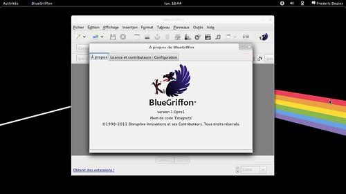 """BlueGriffon 1.0pre1 """"Escagnots"""""""