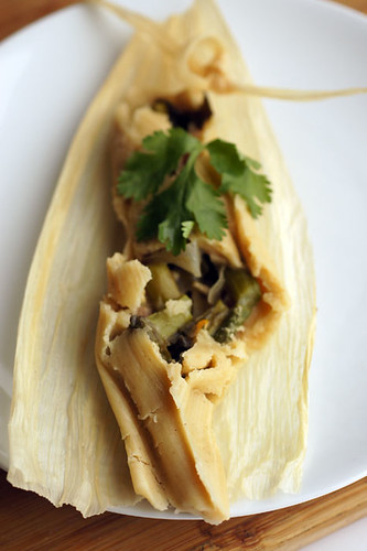 Olive oil tamale heaven