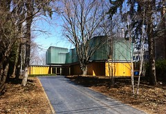 Integral house (southofbloor) Tags: wood house toronto building glass architecture modern architect ravine mansion modernist rosedale iphone shimsutcliffe integralhouse