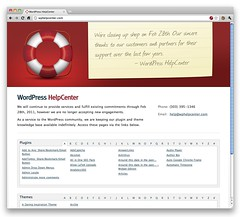 WordPress HelpCenter is shutting down Feb 28th