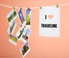 I LOVE TRAELING(color ur life)27\30 (Randa Abdul) Tags: life pink color love your ur traveling raa i