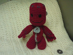 Sackboy (amifan2010) Tags: toy doll crochet amigurumi sackboy