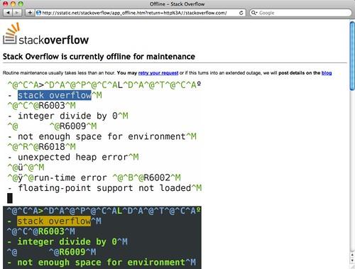 Offline - Stack Overflow