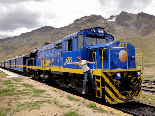 Wendy Hitches A Ride on Peru Rail's Andean Explorer