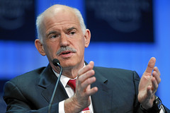 George Papandreou Announces Property Tax