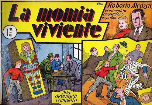 005-Roberto Alcázar nº 5-La momia viviente-portada