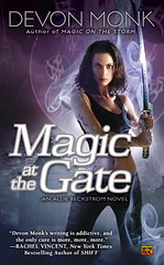 November 2nd 2010 by Roc     Magic at the Gate (Allie Beckstrom #5) by Devon Monk