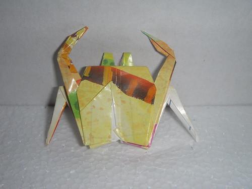 Origami #24: Crab