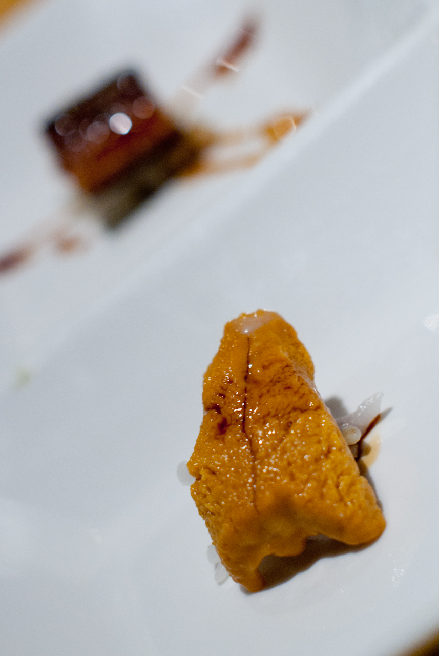 Uni and Unagi Sushi