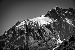 Milford (Steve4343) Tags: nikon d70 milford sounds south island new zealand newzealand black white photography mountains snow mywinners steve4343
