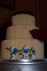 Wedding Misc (get_gazz) Tags: wedding house cake hotel smurfs