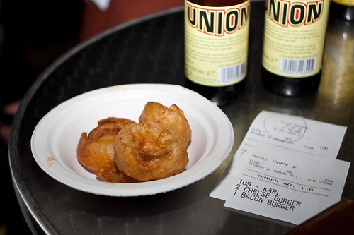 Onion rings and union