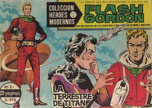 006-Flash Gordon nº1-coleccion Heroes Modernos-Editoria Dolar