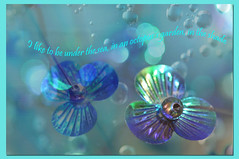 ~~underwater garden~~ (IngeHG) Tags: blue decorations flower green texture home singapore purple background manual octopussgarden bluejacket bluebubbles nikond90 t189522011week5 photoaweekweek5