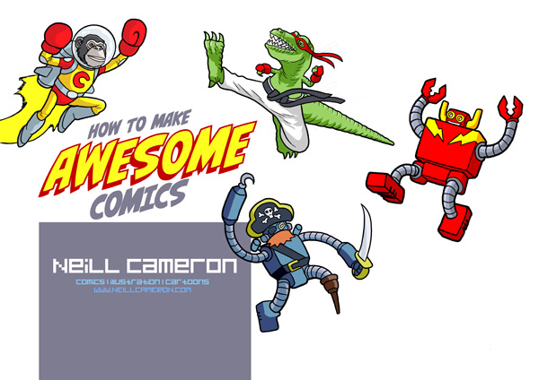 Awesome Comics intro pic