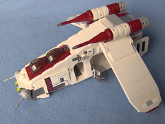 Custom Republic Gunship. (Carpet lego) Tags: starwars cool republic lego gunship