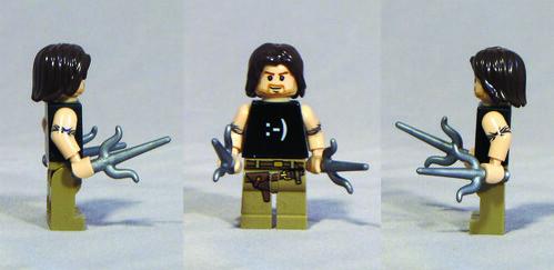 Custom minifig Smiley custom lego minifigure