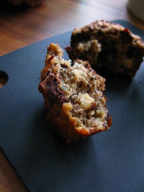 banana nut quinoa muffins 003