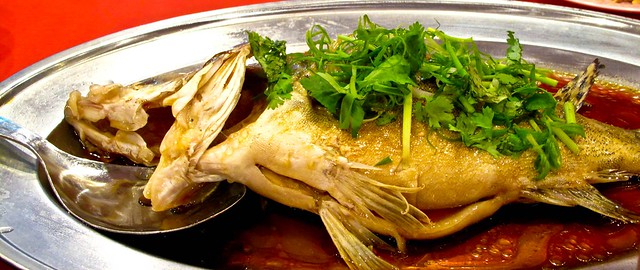 IMG_0060 蒸鱼,steamed fish