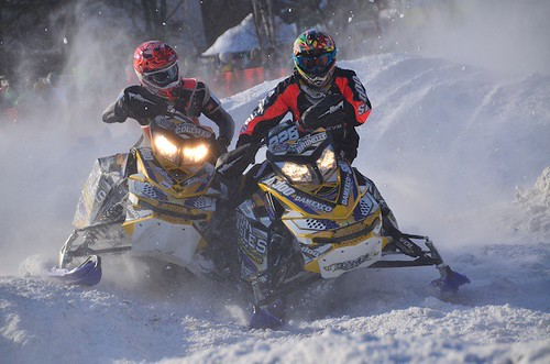 SNOWMOBILE RACES