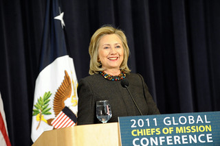 Secretary Clinton Delivers Remarks at First-Ever Global Chiefs of Mission Conference
