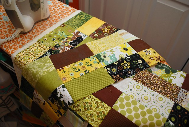 snow day patchwork #2
