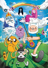 Adventure Time! - Fan-Art #1 (Burlisaurus) Tags: illustration fun jake drawing cartoon finn cartoonnetwork characterdesign adventuretime rainicorn icewizard princessbubblegum lumpyspaceprincess
