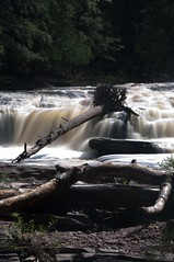 River (scottwarrenphoto) Tags: statepark waterfall stam porcupinemountains presqueisleriverscenicarea