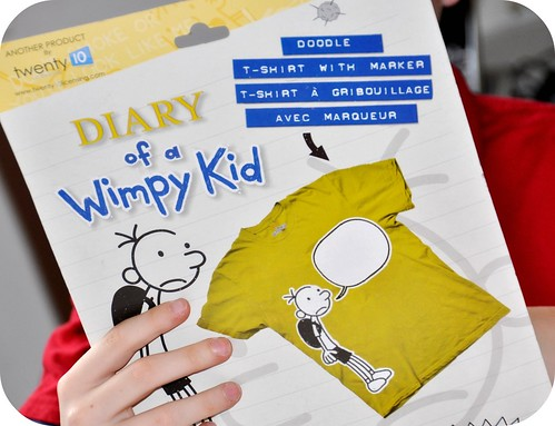Diary of a Wimpy Kid Tshirt
