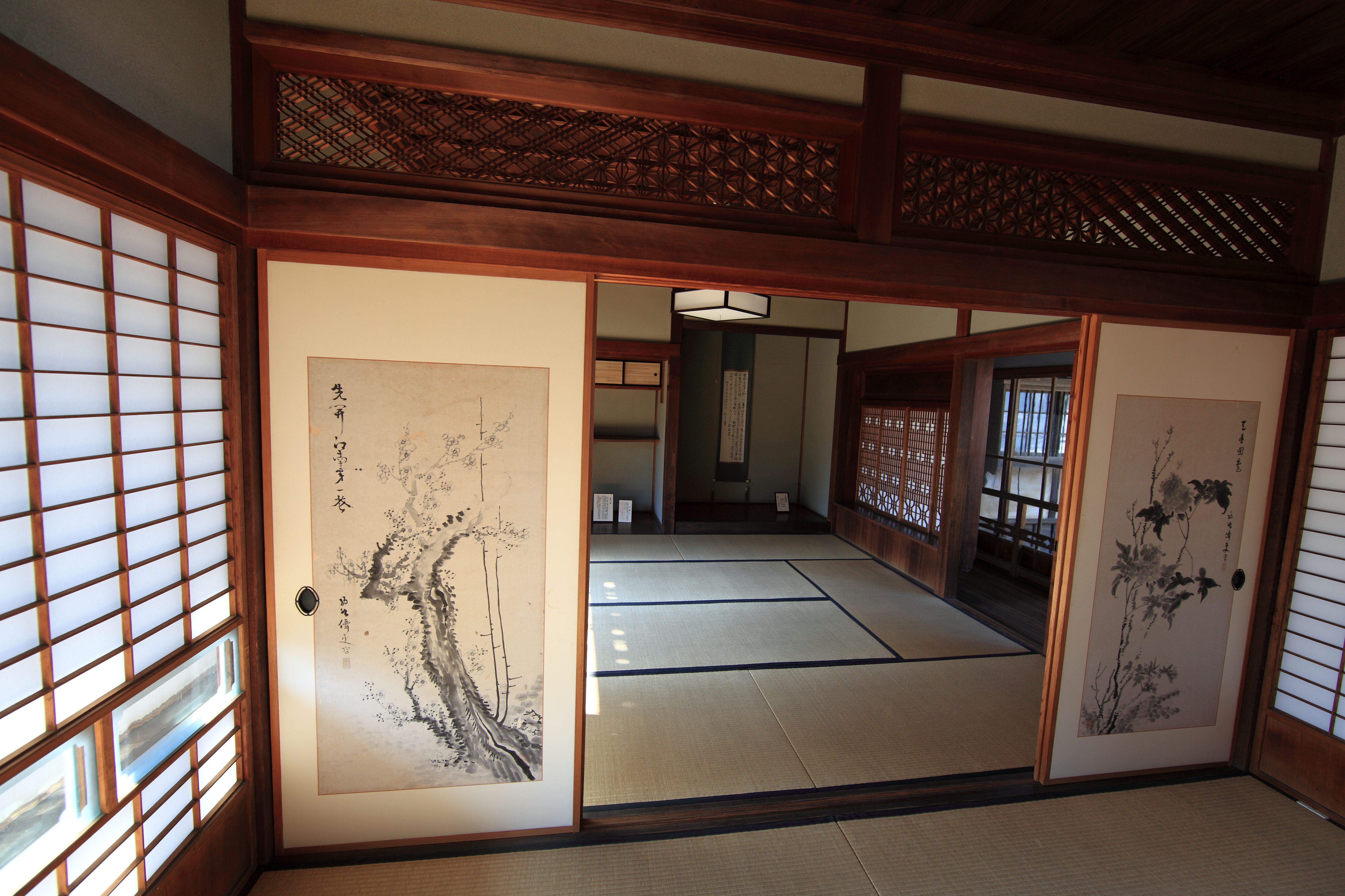 traditional japanese style house interior on japanese traditional