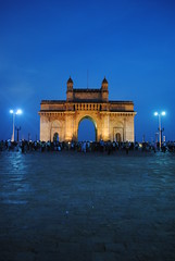 The Gateway of India, Mumbai (amazing_tina) Tags: people india arch tourists stunning mumbai eveningsky magnificent attraction magestic touristsite gatewayindia mumbaisite