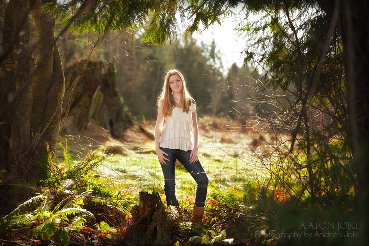 light, backlighting, seattle, tacoma, model, portfolio
