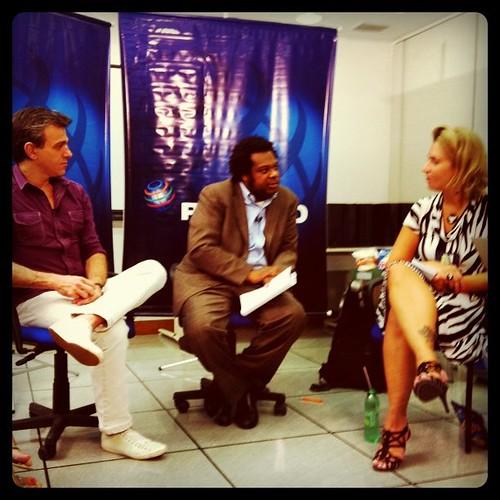 Encontrinho da @Pepsico e @agenciaideal com blogueiros e @boughb (cc @edmarbulla @anamariacoelho)