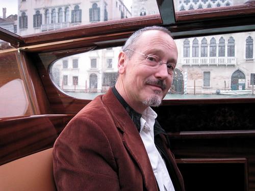 David leaving Venice