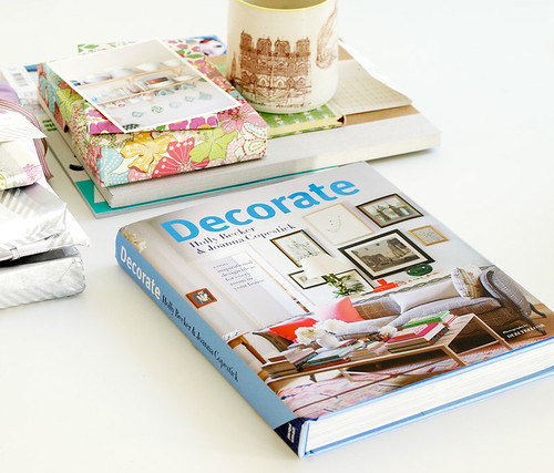 UK Cover of my book, Decorate