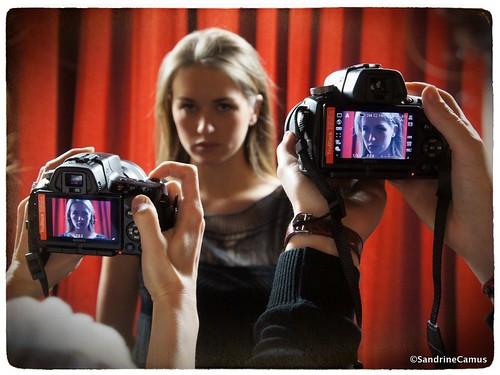 #Projet 365 D41 - J'ai participé à un super cours de photo sur le portrait (SONY)