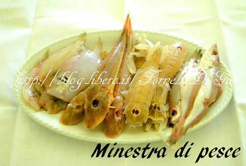 minestra (brodo) di pesce