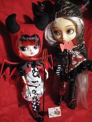 Love Demons (Katrana) Tags: red love san doll day dal valentine devil groove pullip greetings demons ambrosia mueca keka junplanning zellas zuora lipoca metallium