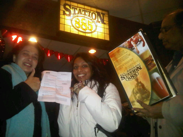 Grouponing at Station 885 by Groupon