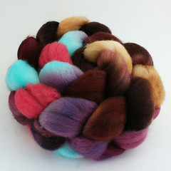 Only a Kiss on Superwash BFL